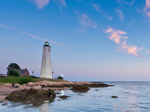 Lighthouse in Connecticut